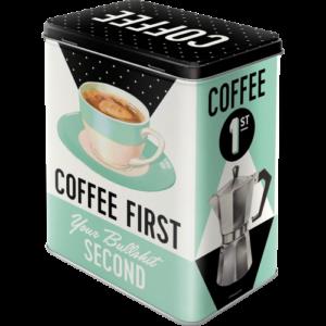 Bewaardoos Coffee first